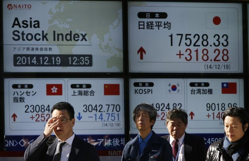 Asian Stocks Rise on The Back of Better-Than-Expected Chinese PMI Figures