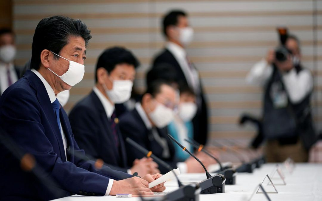 Japan set to announce coronavirus emergency, finalize near $1 trillion stimulus