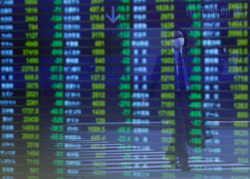 Asian shares creep higher as markets wait for Fed