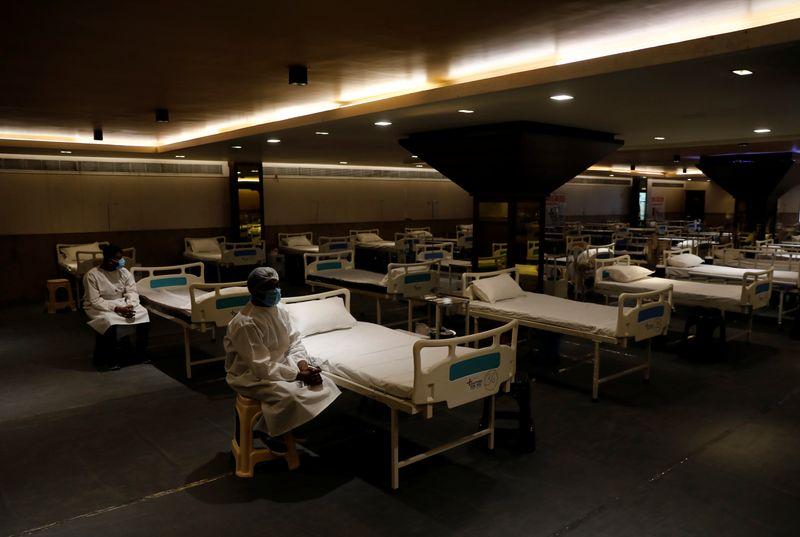Indian capital readies vast quarantine centre as coronavirus cases mount